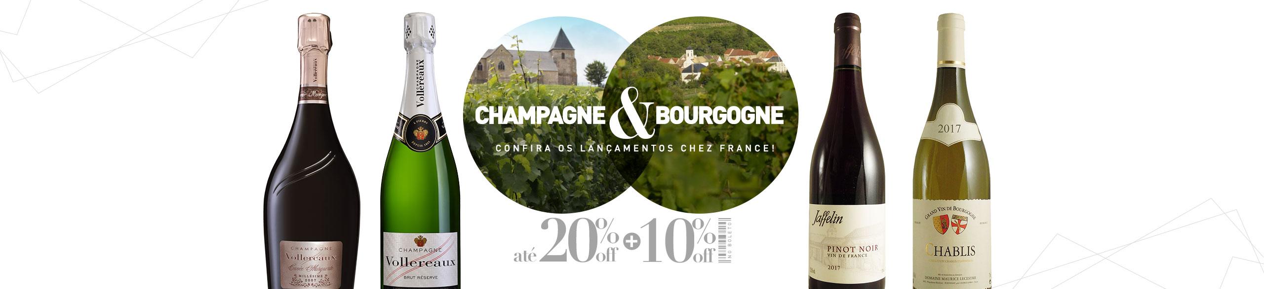 Champagne e Bourgogne