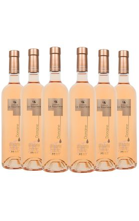 vinho-rose-frances-provence-domaine-rouillere-cuvee-6-garrafas