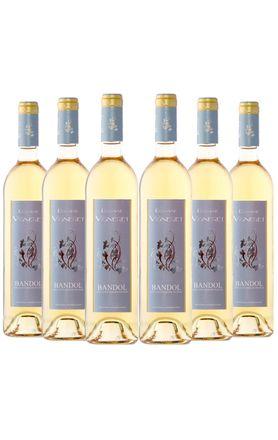 vinho-branco-domaine-vigneret-aoc-bandol-provence-6-garrafas